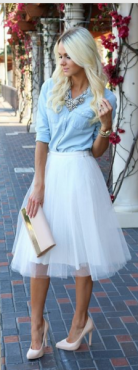 Spring Tulle